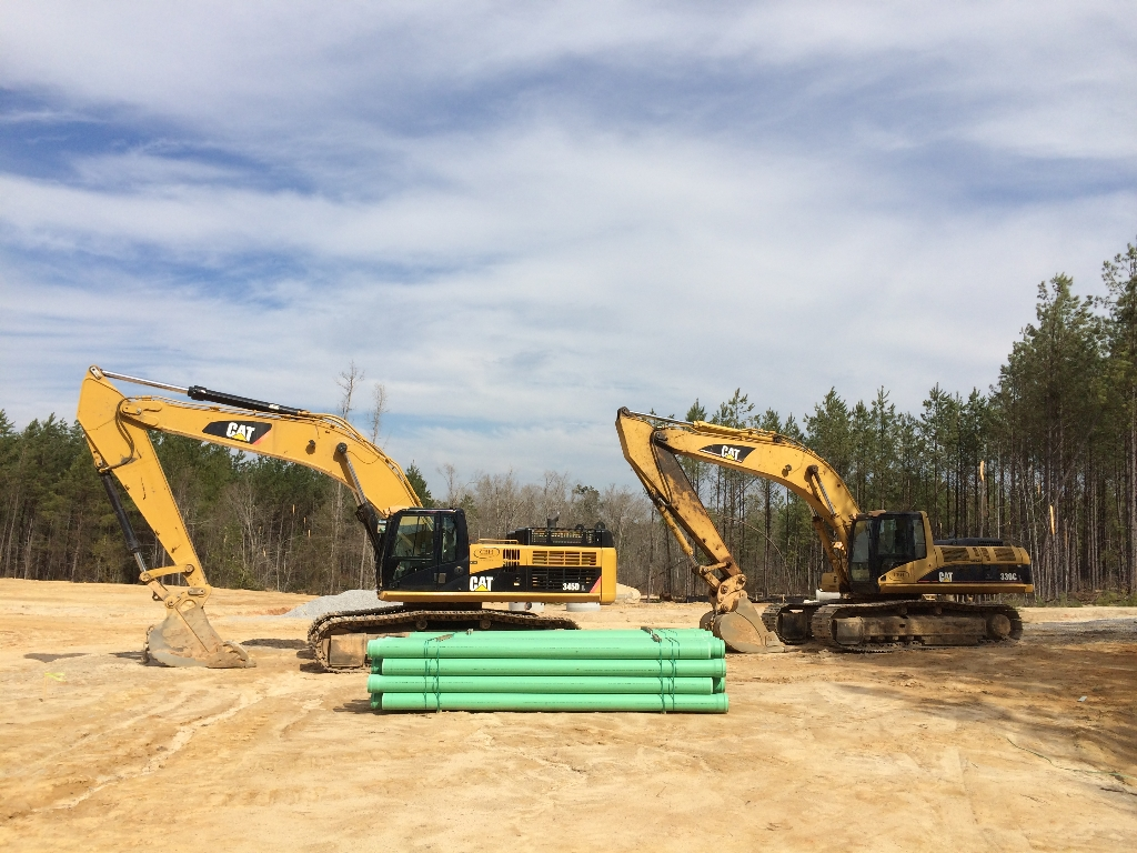 Pipe Laying | CBH Excavation